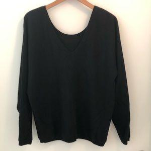 Vince Black Cashmere Sweater Size L